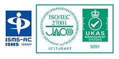 ISMS 27001取得ロゴ